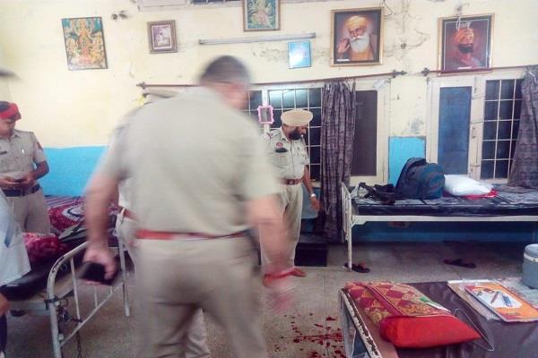 suspend constable harish shot himself