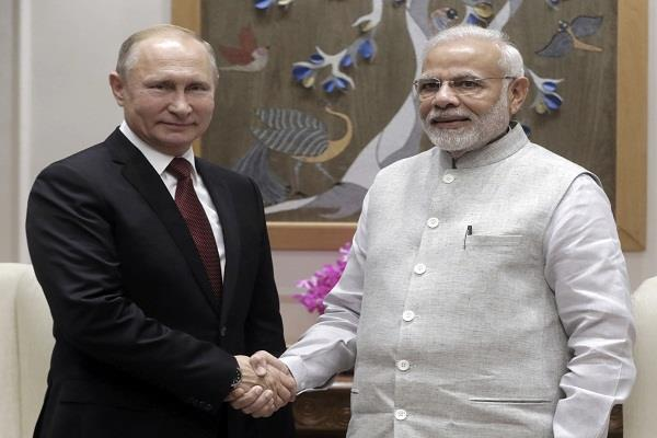 pm modi meets putin discussions on bilateral issues