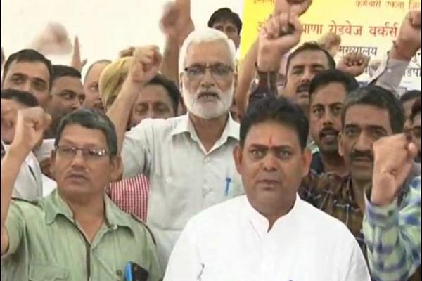 roadways unions decide for strike on october 16 and 17