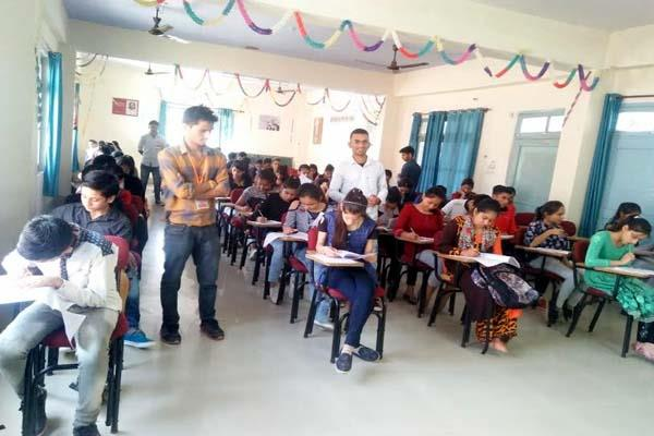 thousands of students took part in general knowledge competition at sundernagar