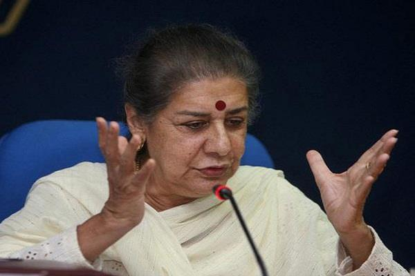 ambika soni did me to support rahul said  a big issue