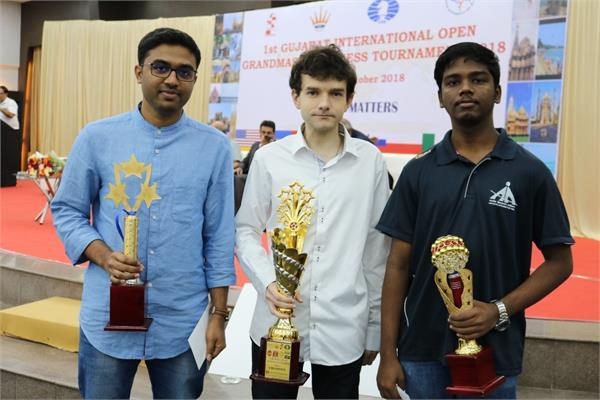 gujarat international open grandmasters chess tournament