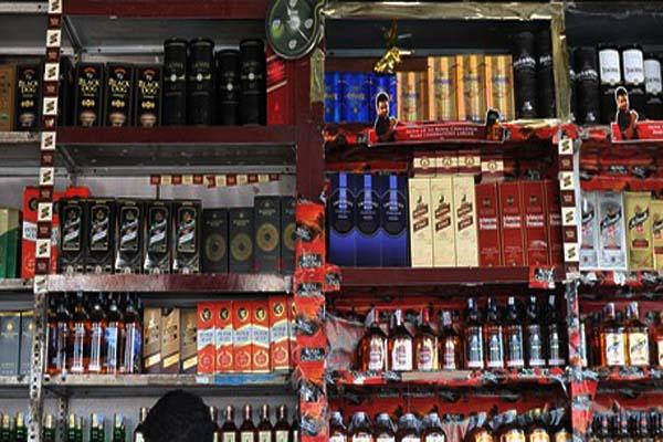 gangath house liquor recovered
