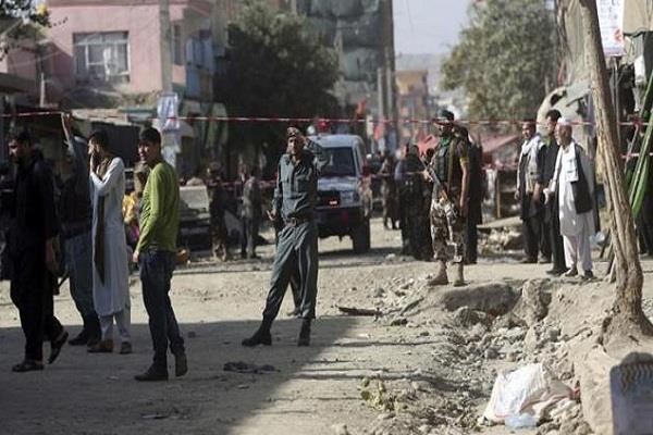 afghanistan suicide attack kills eight people including election candidate