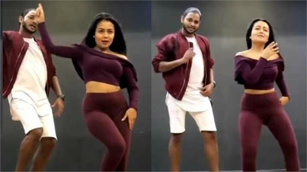neha kakkar dance moves on tony kakkar ludo song