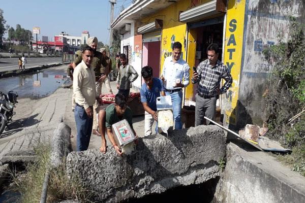 food safety dept drive in diwali
