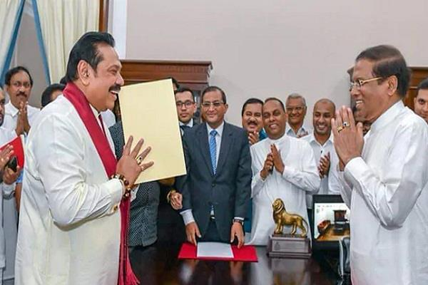 given the political deadlock sirisena may convene in parliament next week