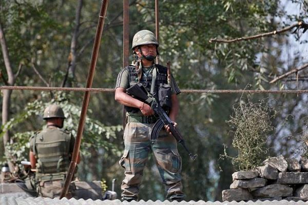 j k 2 terrorists of hizbul stacked by security forces in shopian