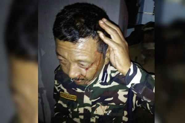 mizoram 10 injured in violence before diwali