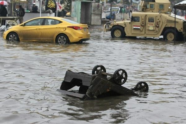 21 dead in iraq floods in two days