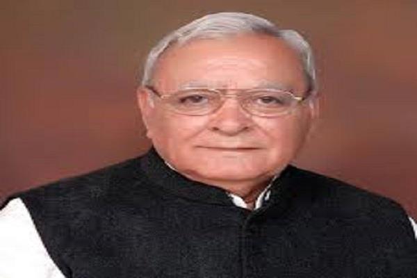 battling of veteran punjabi leader and former home minister subhash batra