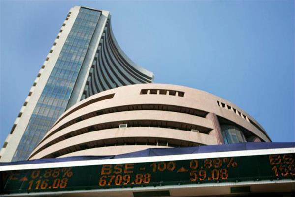 stock market sensex up 35336 and nifty fall to 10619