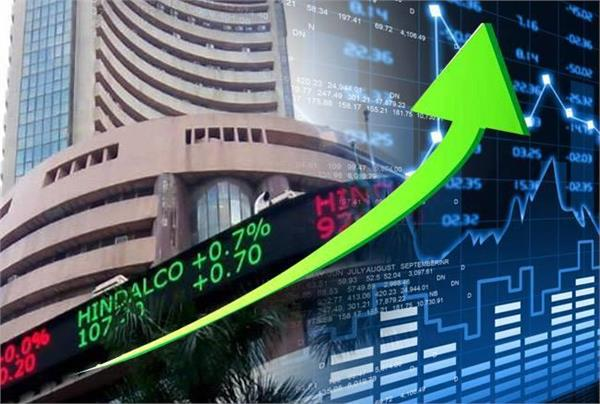 sensex up 312 points and nifty crosses 10460