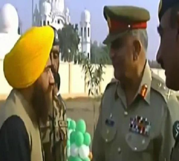 pro khalistan leader gopal singh chawla seen with pak army chief