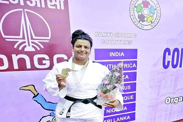 judo player priyanka sharma won gold medal in commonwealth games