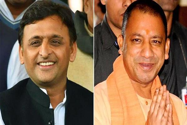 cm yogi and akhilesh yadav on varanasi tour today