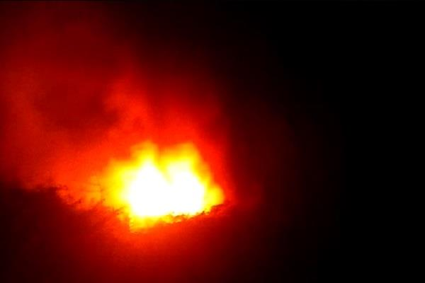 a terrible fire in kalka howrah express