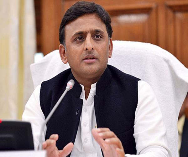 bjp s character playing with the future of youth akhilesh