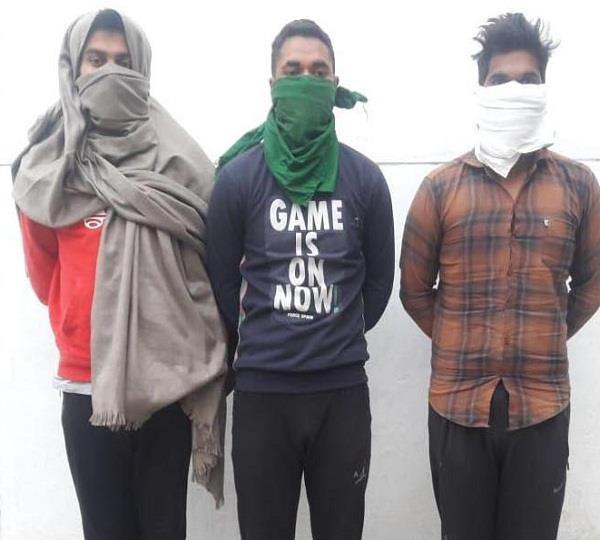 3 arrest