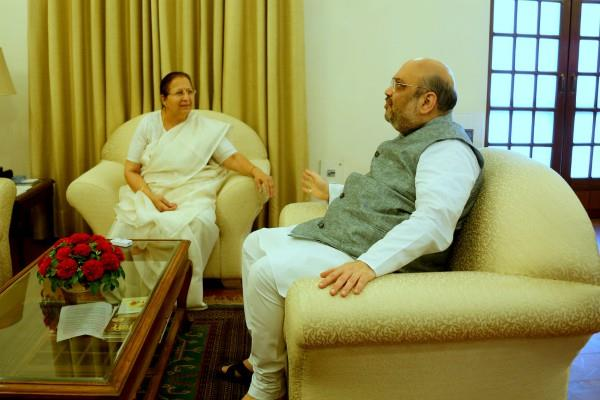 how did amit shah sidelinate sumitra mahajan