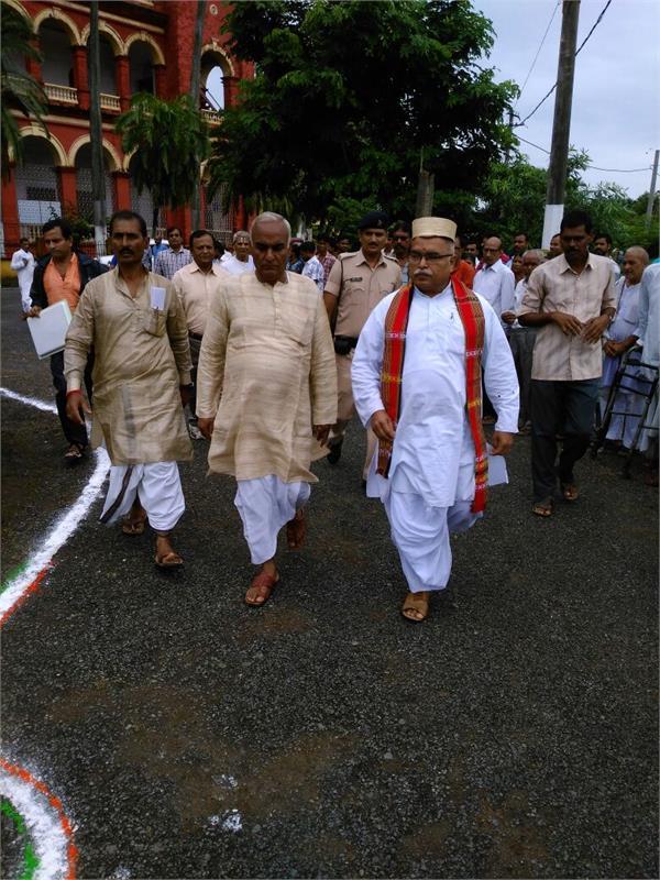bihar s governor raised voice for sanskrit education