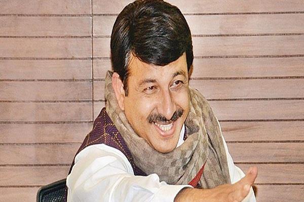 manoj tiwari amit shah lok sabha elections bjp