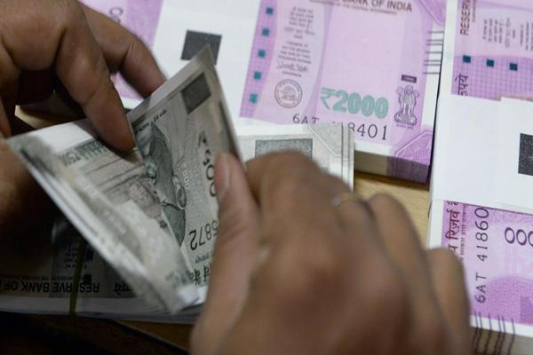 rupee drops 26 paise in early trade