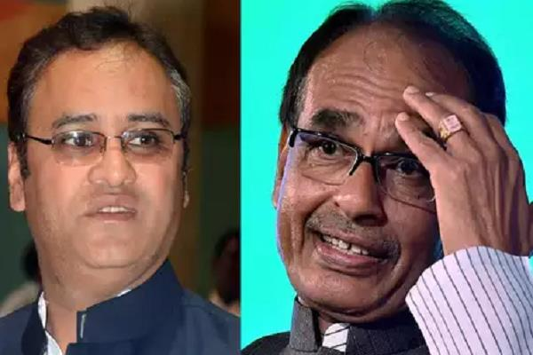 congress has played 15 years old claim of defeating shivraj