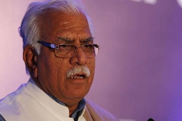 cm khattar sad in sonipat acccident