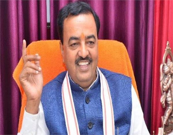 congress has hindered the way in building a temple maurya