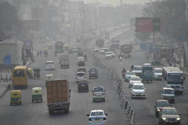 before diwali mist in delhi