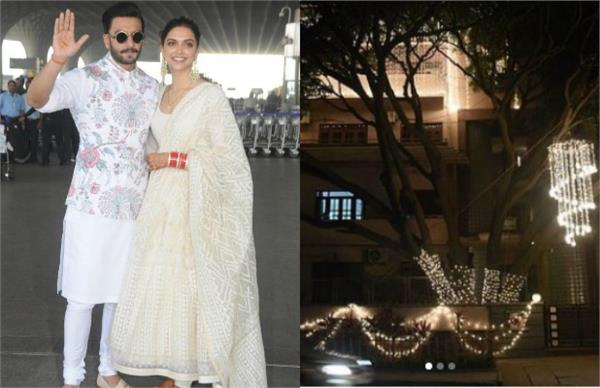 deepika bangalore home is all set to welcome the guest for deepveer reception