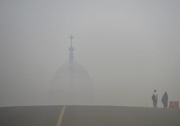 delhi s air reached critical level