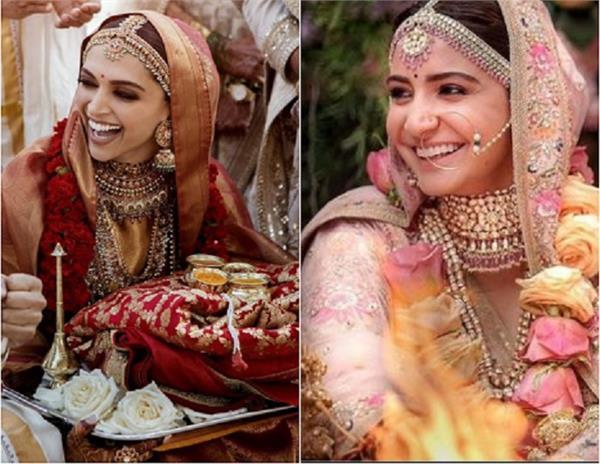 Wedding Look: दीपिका ही नहीं, इन 6 एक्ट्रेस ने भी चुना सब्यसाची का लहंगा