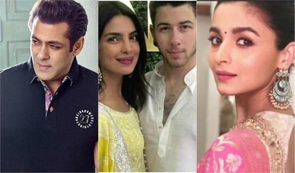salman and other stars has been invited to the priyanka and nick wedding