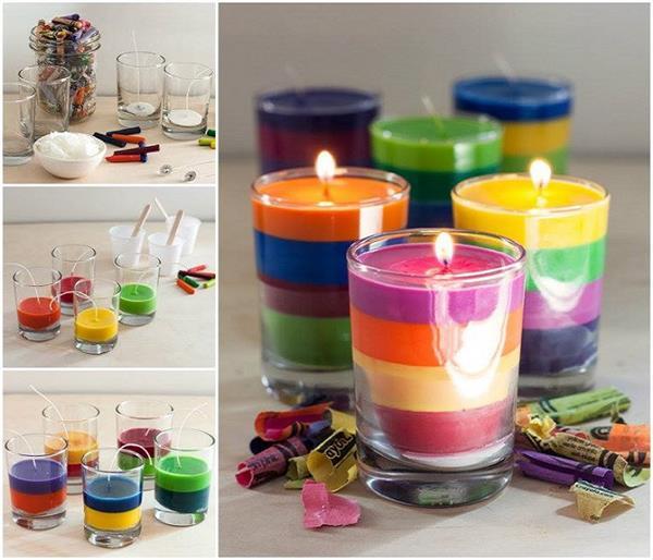 बाजारू नहीं, दीपावली पर बनाएं DIY Candles