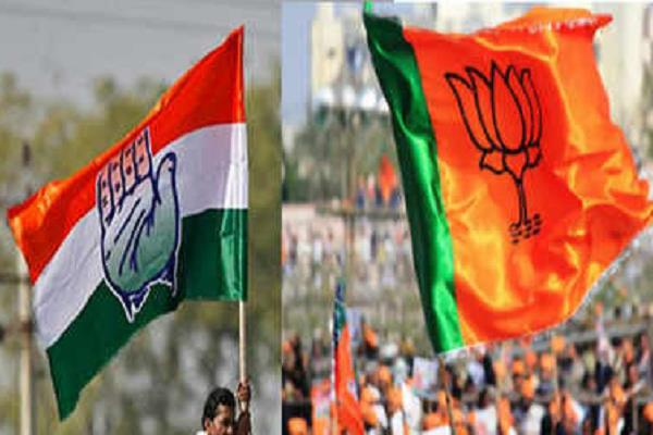 his veteran left the hand joining bjp with more than 50 supporters