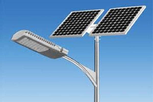 stolen from solar street lights
