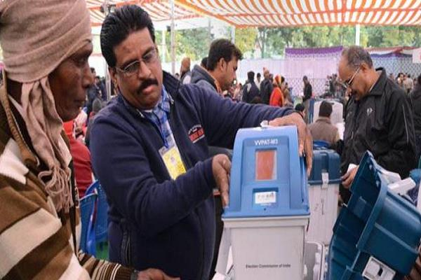 demand for re election on evms in mp bjp congress in many seats