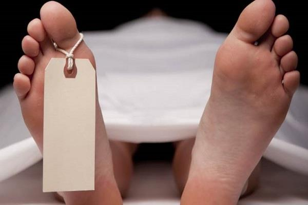 death in the accident of the person going