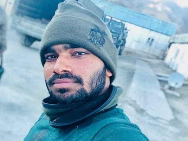 leh laddakh army depot blast bulandshehar jawan lost life
