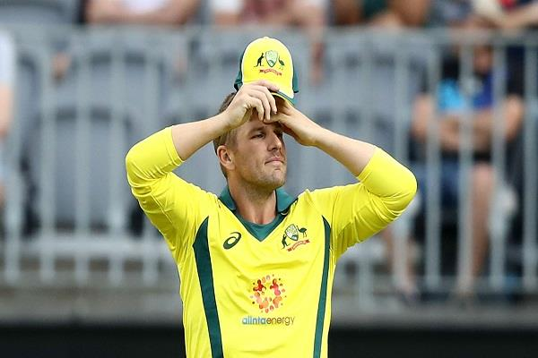 Aaron Finch INDvsAUS