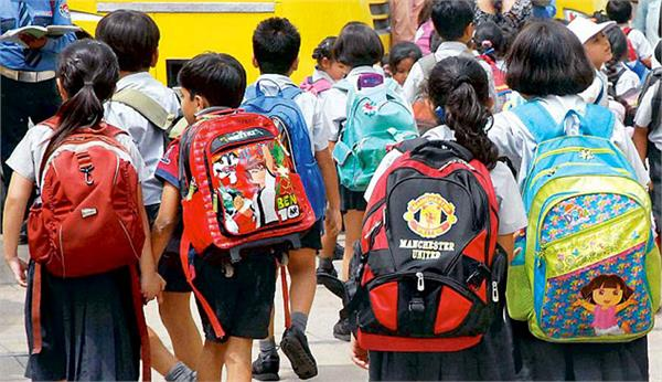 government of gujarat issued instructions to reduce the burden of school bages