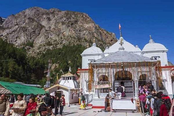 gangotri dham kapat will be closed today