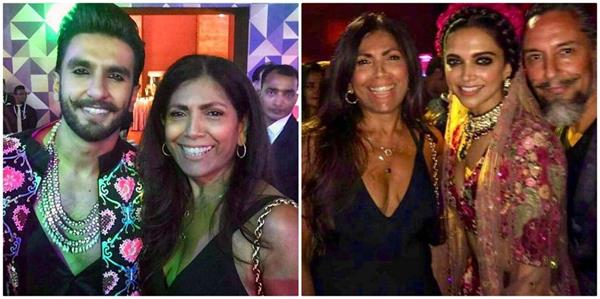 रणवीर की बहन रितिका भवनानी ने होस्ट की दीपवीर की वेडिंग पार्टी, देखे तस्वीरें