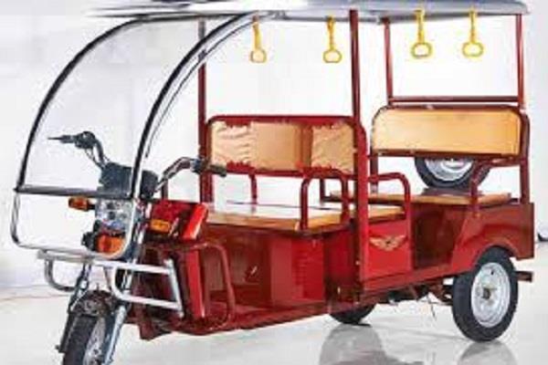 the e rickshaw battery has not given full average