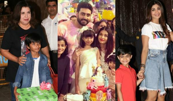 aaradhya birthday party pictures