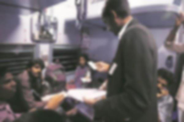 sevral of passengers caught without ticket more than 5 lakh fine