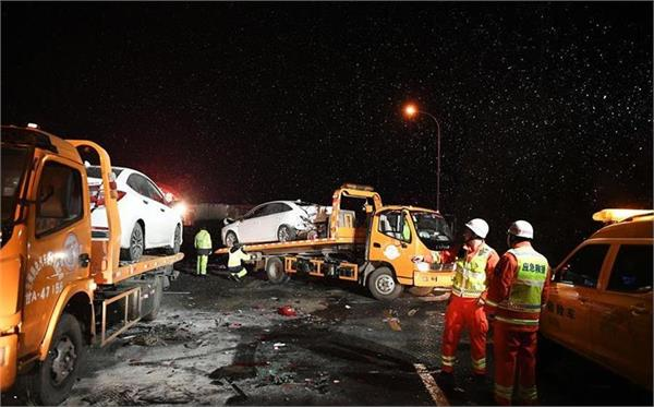 5 killed in 31 vehicle pile up on chinese highway