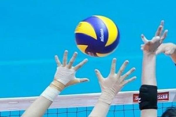 international women s volleyball game from mahakumbh today
